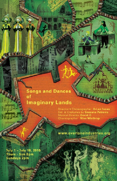 Songs and Dances of Imaginary Lands Flyer