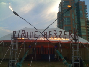Cirque Berzerk @ the Forecastle Festival