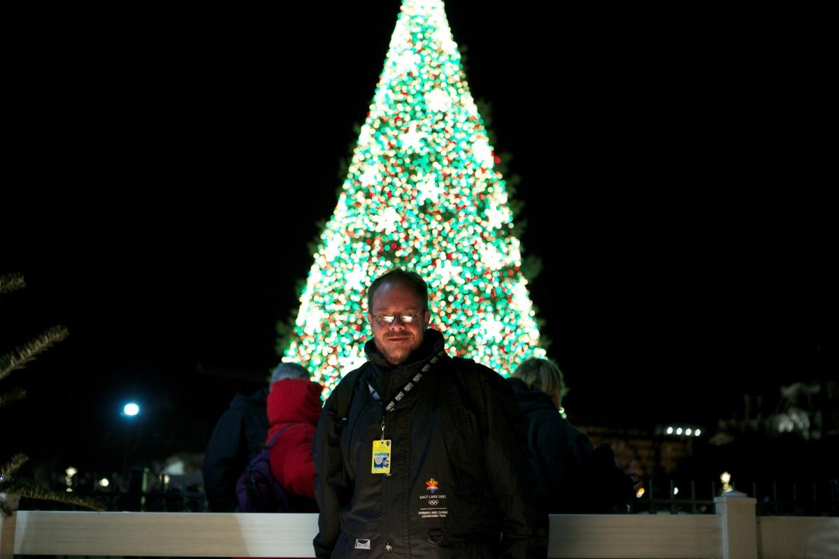 2012 National Christmas Tree Lighting with Lighting Designer Matt Ford and Magic Lantern Creations Inc.