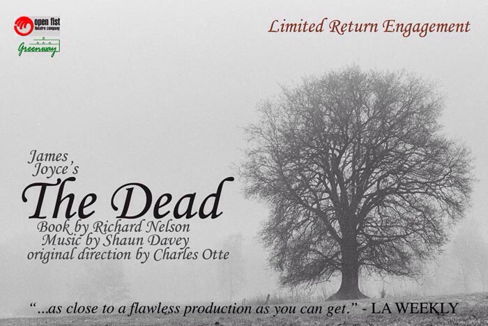 James Joyce's The Dead- The Open Fist at the Greenway Court Theatre