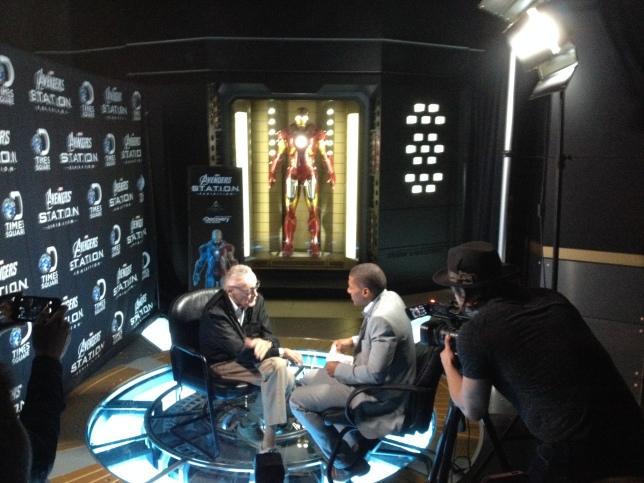 Stan Lee & Iron Man