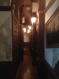 Haunted Hotel Queue Hallway